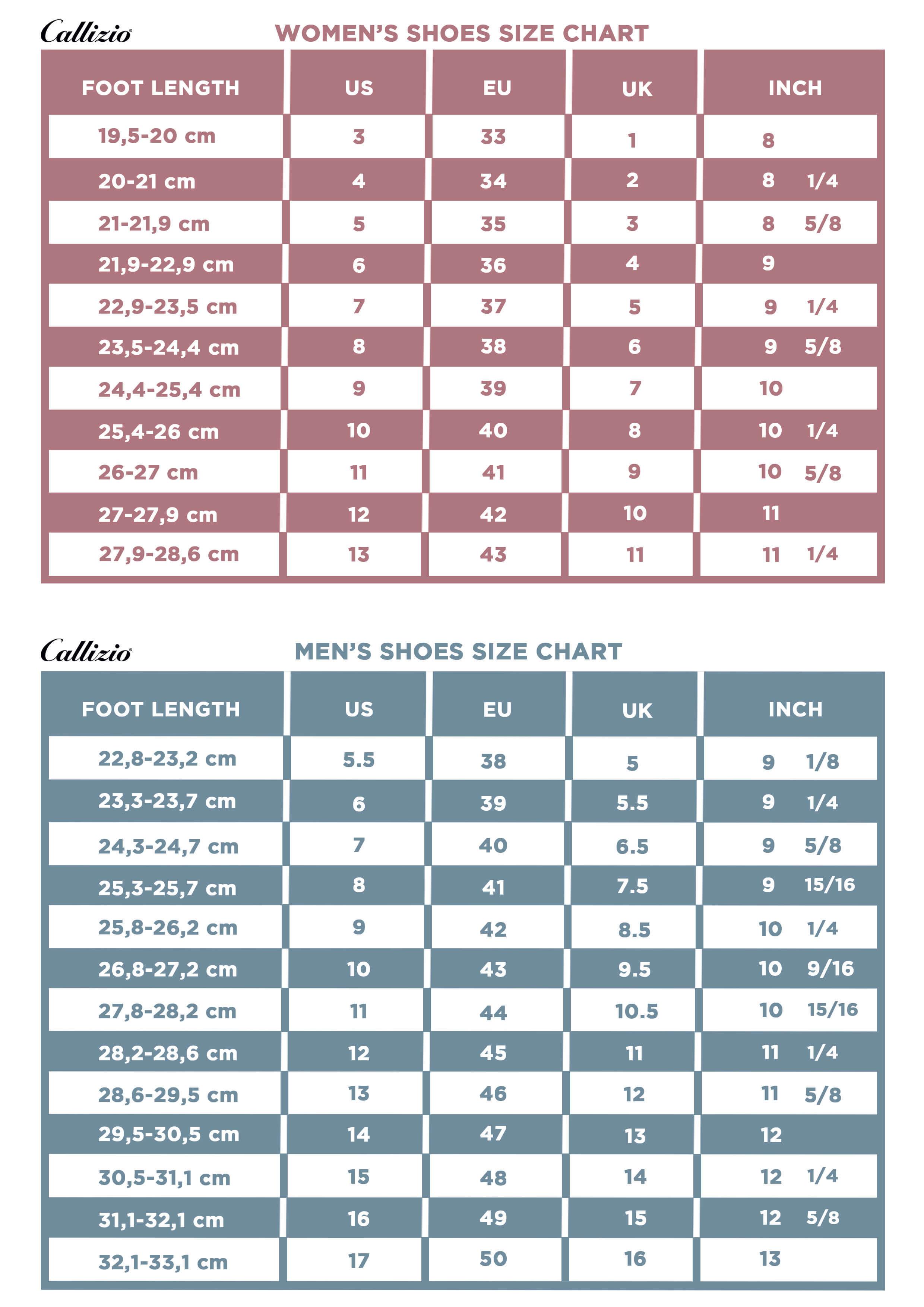 down-tab-size-chart
